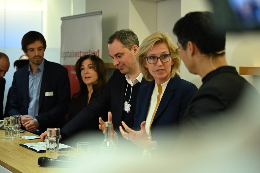 Tech for Climate panel discussion at WEF 2020