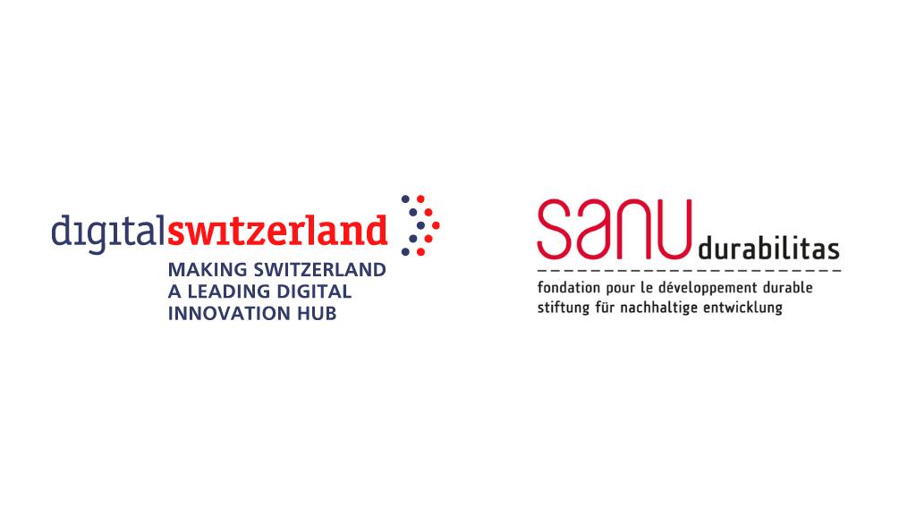 digitalswitzerland and sanu durabilitas logos